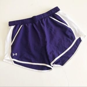 Under Armour Purple Athletic Shorts